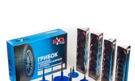 ГрибокГ-6У-1хв(Грибки резин.с усил. шляпкой(с кордом)с адгезивом на шляпке и резин. ножкой,не покр.адгезивом, для рем.проколов(до 8кгс/см2)22х180(12шт