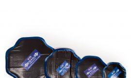 Пластырь ПД-4-2 (Пластырь диагон., угол между слоями корда 90 для ремонта диагон. шин грузовых, легковых авто., с/х техники) 160×160 мм,2 сл.корда