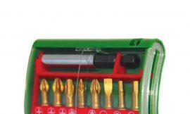 36785 Набор бит Hammer Flex 203-904 PB set No4 (9pcs) Ph/Pz/Sl/Hx 9шт.