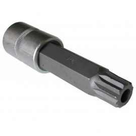 Головка-бита SPLINE 12-лучевая M16 с отверстием 1/2»(L-55мм)