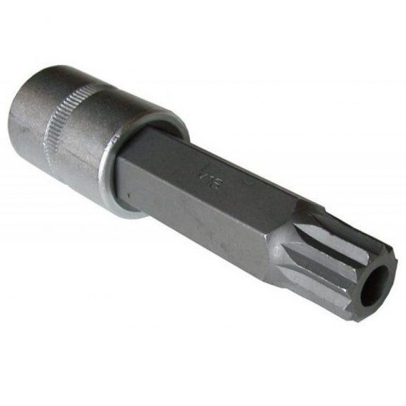 Головка-бита SPLINE 12-лучевая M16 с отверстием 1/2»(L-100мм)