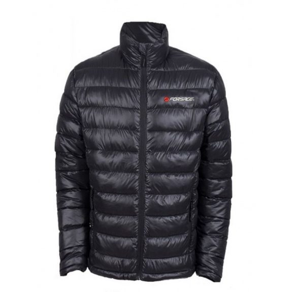 Куртка болоньевая с электроподогревом водоотталкивающая(р.44-46, черная, АКБ:5V, 2A, от 10000 mAh, 3 режима нагрева, АКБ не комплектуется)