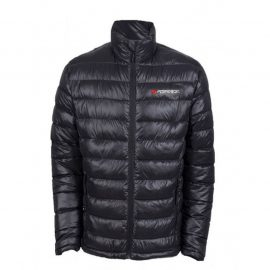 Куртка болоньевая с электроподогревом водоотталкивающая(р.46-48, черная, АКБ:5V, 2A, от 10000 mAh, 3 режима нагрева, АКБ не комплектуется)