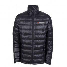 Куртка болоньевая с электроподогревом водоотталкивающая(р.48-50, черная, АКБ:5V, 2A, от 10000 mAh, 3 режима нагрева, АКБ не комплектуется)