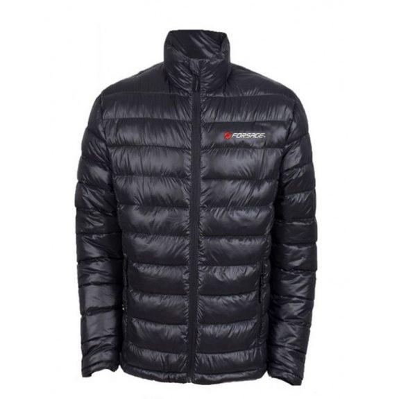Куртка болоньевая с электроподогревом водоотталкивающая(р.50-52, черная, АКБ:5V, 2A, от 10000 mAh, 3 режима нагрева, АКБ не комплектуется)