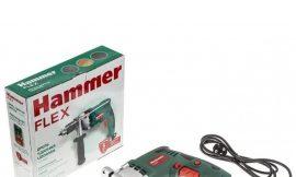 544542 Дрель ударная Hammer Flex UDD950A 950Вт 13мм 0-3000об/мин реверс металл. редуктор