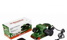 20211 Шлифмашина ленточная Hammer Flex LSM 810 810Вт, 200-380 м/мин, размер ленты 533х75мм+ шлиф. лента