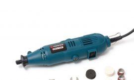 Гравер электрический ручной с набором аксессуаров(135W, 220V, 10000-32000об/мин, цанга 2.3, 3.2мм), в кейсе