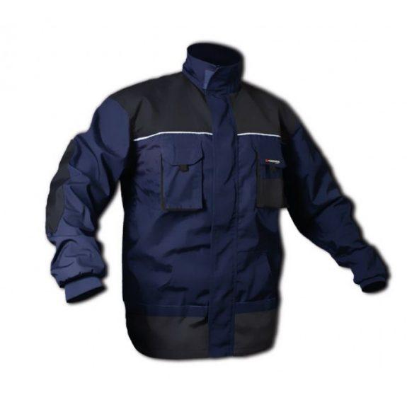 Куртка рабочая со вставками, 8карманов(M/50,обхват груди:96-104,обхват талии:72-80,рост:170-176см,полиэстер/хлопок:65/35%,плотность ткани-267g/m2)