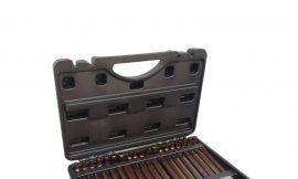 Набор бит с битодержателями »Premium», 40пр. (10мм)(75/30мм: T20-T55,H4-H12,M5-M12) в пластиковом кейсе