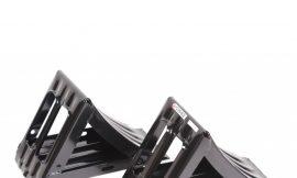 Башмак противооткатный металлический для грузовых а/м с ручкой (длина — 320мм, ширина — 155мм, высота — 190мм), к-т 2шт