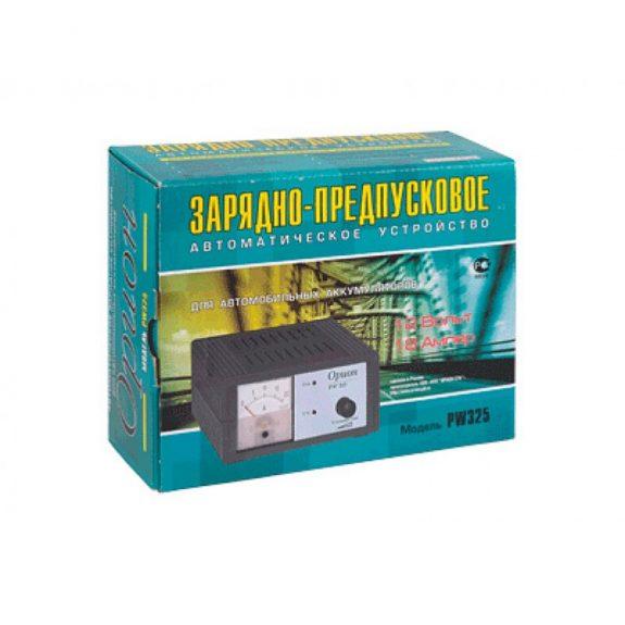 Зарядное устройство PW-325 для АКБ 12V (0.4-15A) автомат 220V ОРИОН