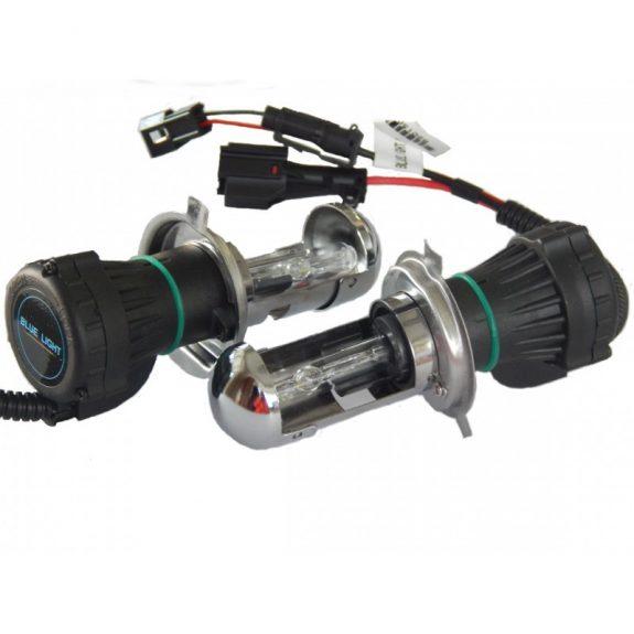 Лампа БИ-ксеноновая H4-H/L 5000K D/C 12v35w »BLUE LIGHT»(2 шт) 38164