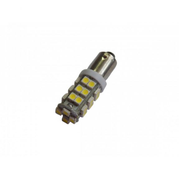 Лампа светодиодная BA9S SMD 28 12V COLOR WHITE 4190++ мал цок