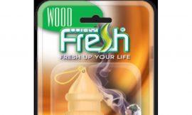 Ароматизатор »WayFresh»»WOOD»(21шт/лист) бутылка с дер.крышкой (В200)
