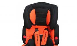 Кресло детское BAB001-S5 black/orange 9-36кг