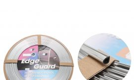 Наклейка-молдинг GV-609-1-20 (carbon) (20м) одевающийся