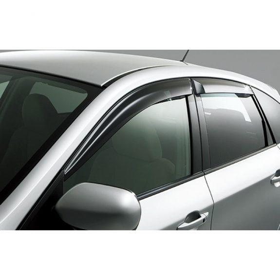 Ветровик (312) BMW-5 E-60 2003г.-> SEDAN с хромом (4пр)