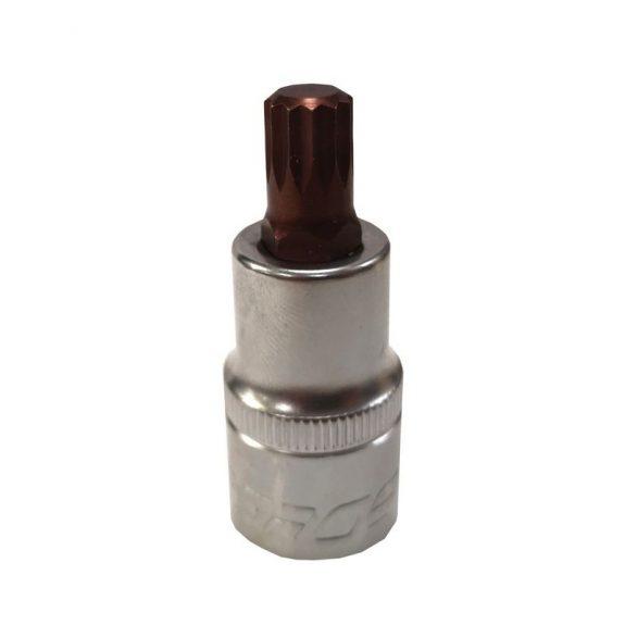 Головка-бита SPLINE 12-лучевая Premium M8 1/2»(L-55мм)