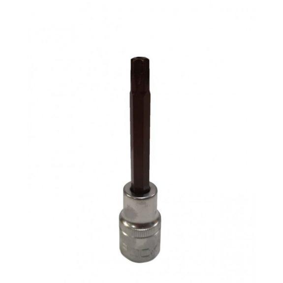 Головка-бита TORX Premium T45 с отверстием 1/2»(L-100мм)