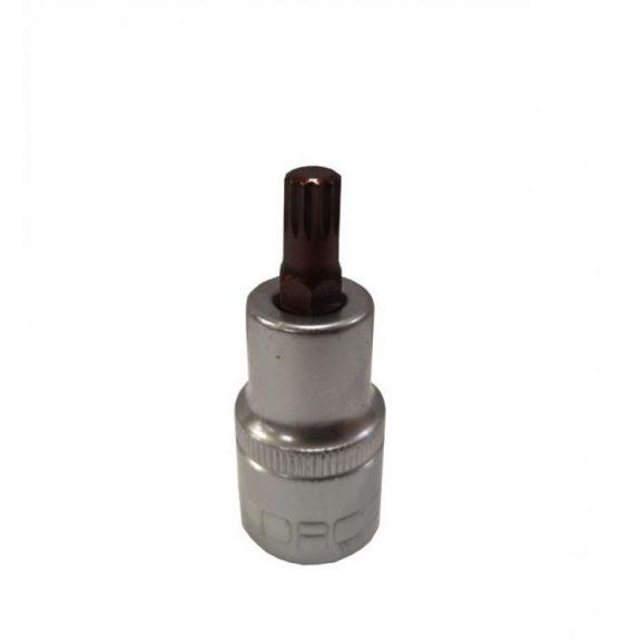 Головка-бита SPLINE 12-лучевая Premium M10 1/2»(L-55мм)