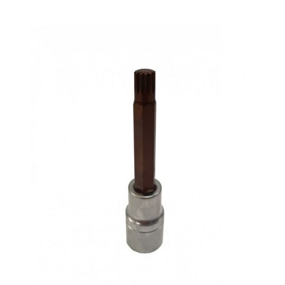 Головка-бита SPLINE 12-лучевая Premium M10 1/2»(L-100мм)