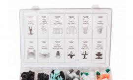 Набор клипс 160пр. (AUDI), пластиковом органайзере