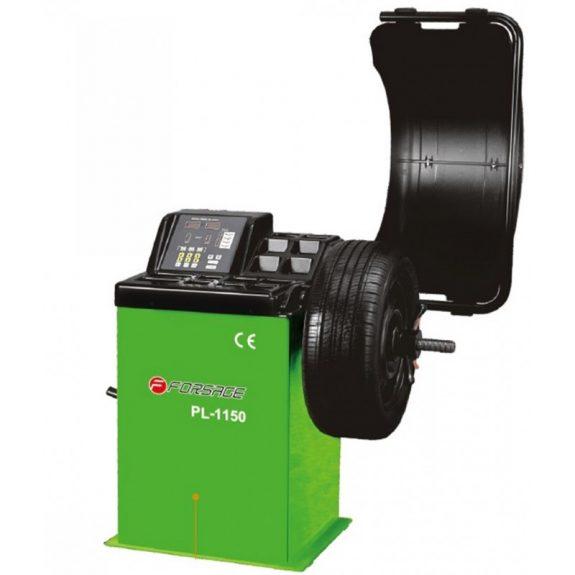Стенд балансировочный, макс.вес колеса: 65kg, точность балансировки: ± 1гр., параметры диска: Ø 10»- 24», ширина: 1.5»- 20»220В/0.2Квт, 88kg