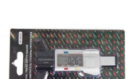 Цифровой измеритель глубины протектора (0-25.4мм, погрешность-0.01мм, рабочая температура- 040гр.), в блистере