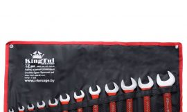 Набор ключей рожковых 12пр. (6х7-30х32мм) на полотне