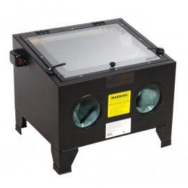 Пескоструйная камера (72л, 6.8атм,340л/мин)настольная пневмо