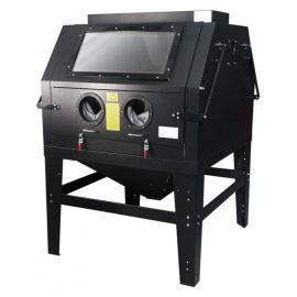 Пескоструйная камера с электродвигателем для очистки воздуха (1200л, 220В, 3.4-6.1атм) пневмо
