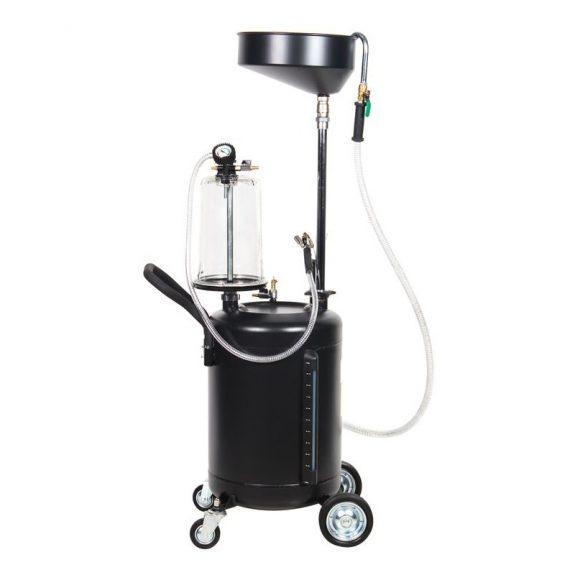 Пневматический перекатной нагнетатель смазки под закладку 17кг(50:1, производительность: 0-0.8 л/мин, давление смазки: 400bar)