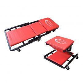 Стул-лежак трансформер подкатной на 6-ти колесах