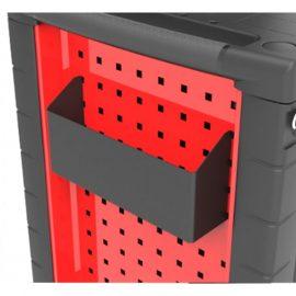 Лоток металлический навесной для тележки инструментальной (65х70х265мм)