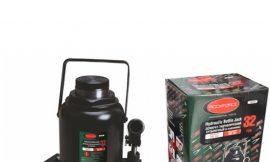 Домкрат бутылочный 32т с клапаном (высота подхвата — 285мм, высота подъема — 465мм, ход штока — 180мм)