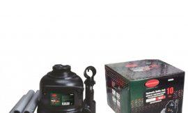 Домкрат бутылочный двухштоковый низкопрофильный 10т (высота подхвата — 125мм, высота подъема — 225мм, ход штока — 100мм)