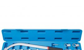 Ключ накидной удлиненный изогнутый со сменными насадками (12,13, 14, 15, 16, 17, 18, 19мм) 10пр., в кейсе