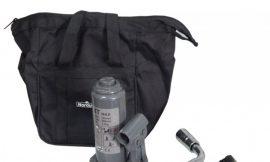 Домкрат бутылочный 4т с клапаном(подхват-195мм, подъем-380мм, ход штока-130мм, ход выкручиваемого винта-55мм),в комплекте с балонным ключом и упорами
