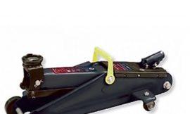 Домкрат подкатной гидравлический 2т (h min — 130мм, h max — 380мм)