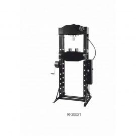 Пресс гидравлический напольный 30т, ручной/ножной привод (рабочая высота: 166-1126мм, рабочая ширина: 540мм, рабочий стол: 200х540мм, ход штока: 150мм