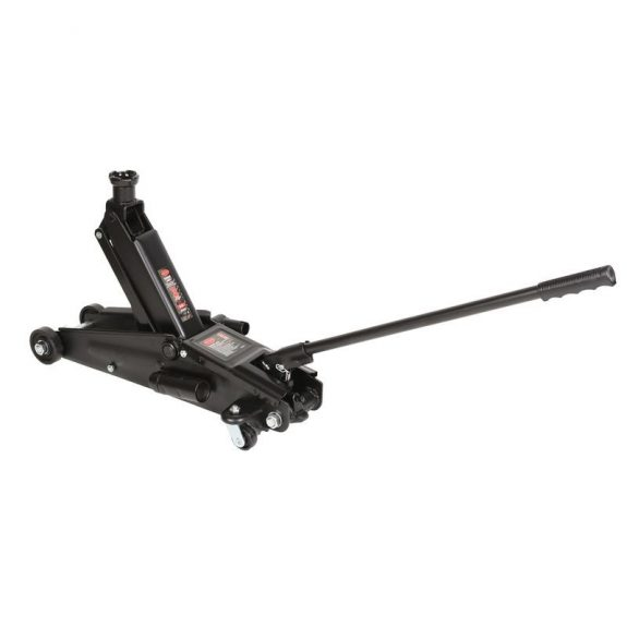 Домкрат подкатной гидравлический с механизмом быстрого подъема и сменной надставкой 3т (h min 150мм, h max 530мм)