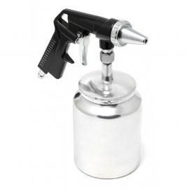 Пистолет пескоструйный пневматический с бачком (бачок-1л ,сопло-6.3, расход воздуха 360 л/мин,давление 6-8bar)