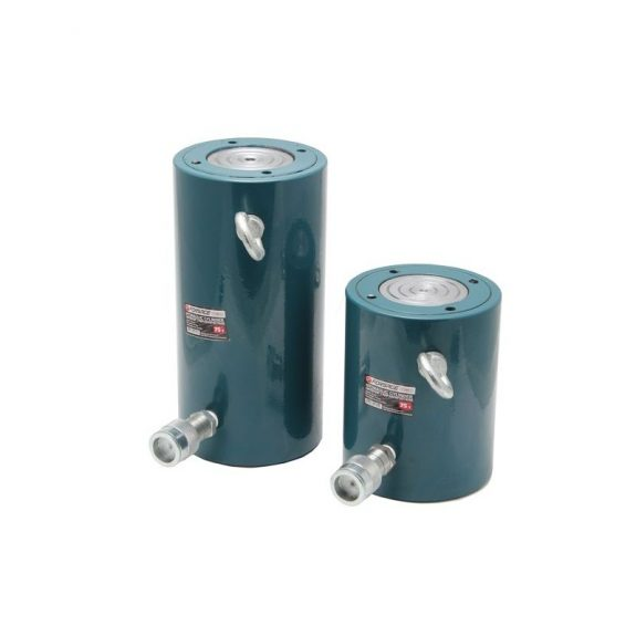 Цилиндр гидравлический 150т (ход штока — 50мм, длина общая — 185мм, давление 732 bar)