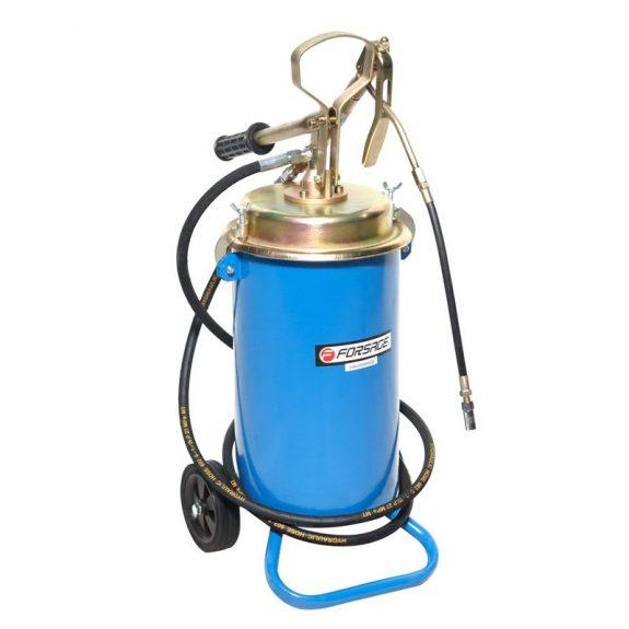 Ручной перекатной нагнетатель смазки под закладку 13кг(50:1, производительность: 0-0.75 л/мин, давление смазки: 300bar)