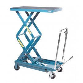 Стол подъемный гидравлический для подъема и перевозки агрегатов 360кг (h min-360мм,h max-1290мм, 1035х550)