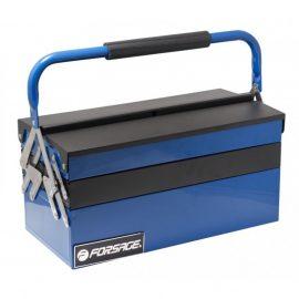 Ящик инструментальный складной на 5 отделений прорезиненной накладкой на ручку (420х210х210мм, 400х95х45мм-4шт, 400х200х100мм-1шт)