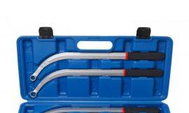 Набор ключей накидных удлиненных изогнутых(L-470мм, 13,15, 16, 17, 19мм) 5пр., в кейсе