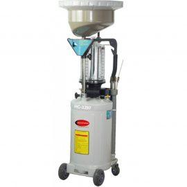 Установка пневматическая для удаления отработанного масла перекатная с индикатором заполнения (бак-90л,предкамера-11л, воронка-20л,6 щупов,max t-60гр)