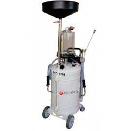 Установка пневматическая для удаления отработанного масла перекатная с индикатором заполнения(бак-90л,предкамера-10л, воронка-15л,6 щупов,max t-60гр)